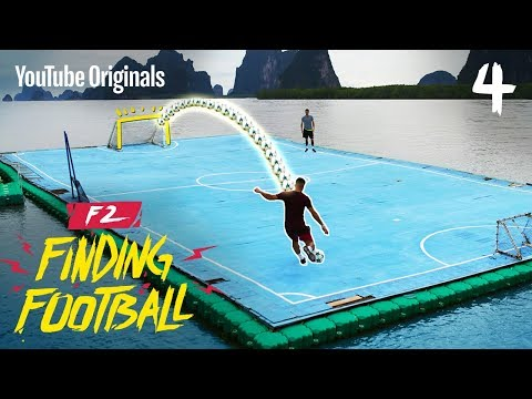 😱 WE WENT TO WORLD'S MOST EXTREME PITCH!! | F2FF THAILAND ⚽️🇹🇭