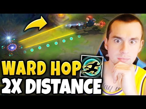 NEW LEE SIN MECHANIC UNVEILED!! WARD HOP TWICE THE DISTANCE?! - League of Legends