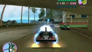 GTA: tommy vercetti goes to san andreas with the delorean
