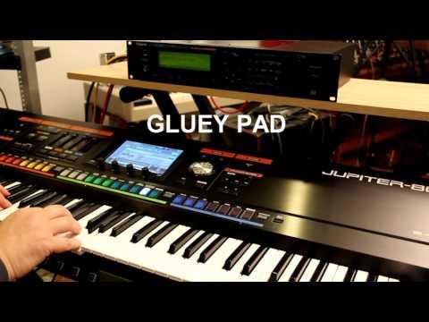 A few Roland JV-2080 soft pads