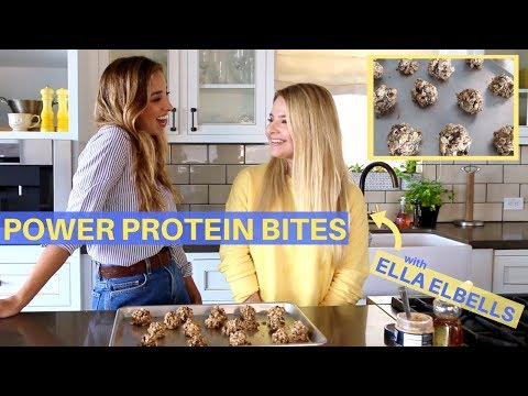 Perfect ENERGY SNACK for School + Work | ft. Ella Elbells