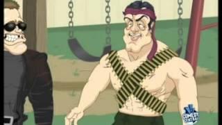 VH1 ILL USTRATED Schwarzenegger und Stallone