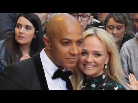 Former Spice Girls Emma BUNTON & fiancé Jade JONES @ Paris 25 april 2018 Global Gift gala Mp3