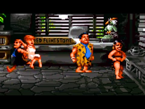 The Flintstones (SNES) Playthrough - NintendoComplete
