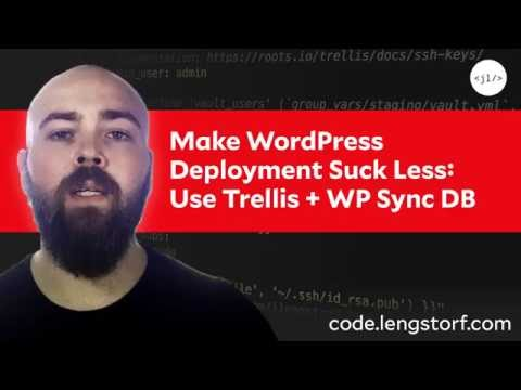 Automatic WordPress Deployment + Free SSL: Trellis How-To