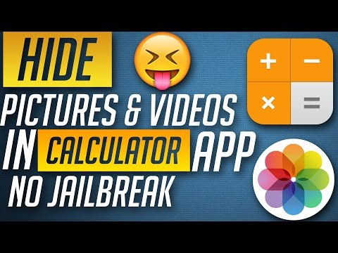 Password Protect & Hide Pictures in Calculator App - iPhone, iPad & iPod Touch