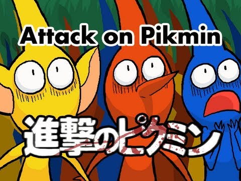 Attack on Pikmin