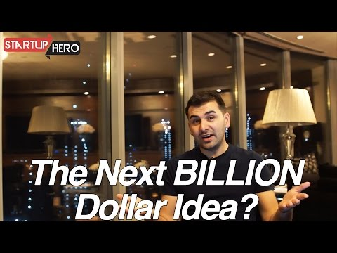 The Next BILLION Dollar Business Idea? - StartupHero #6