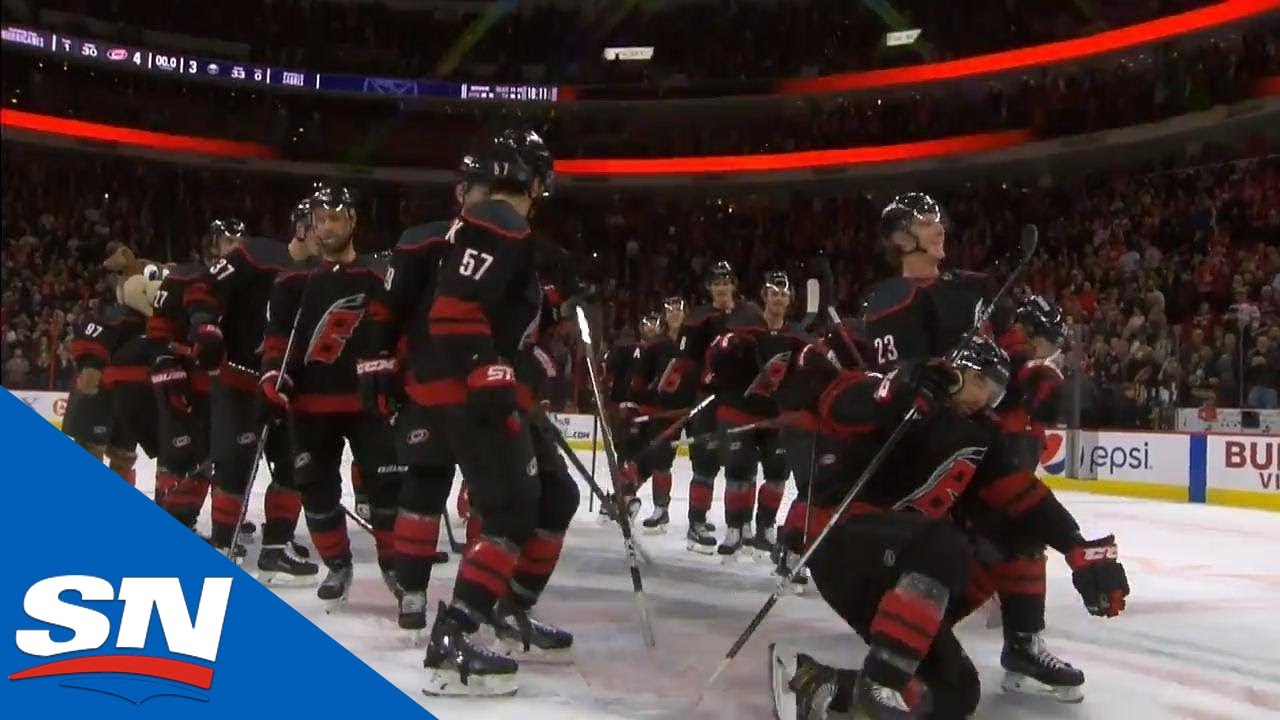 a681e8cfe Carolina Hurricanes Go Bowling To Celebrate Beating The Buffalo Sabres