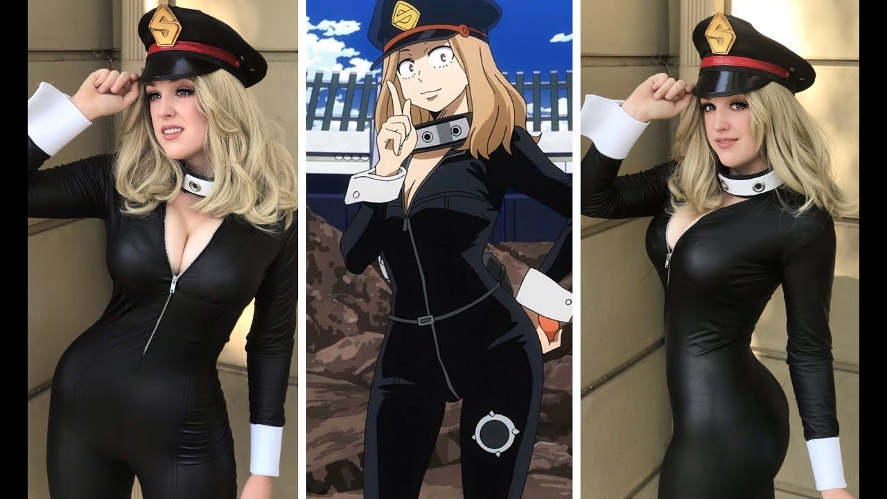 My hero academia camie cosplay