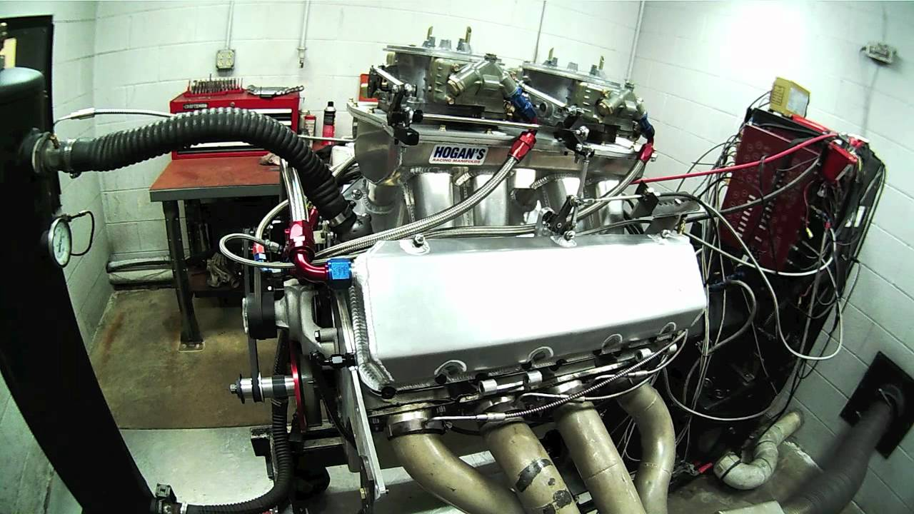 1250 HP Borowski Built 632 Cubic Inch Big Block Chevy