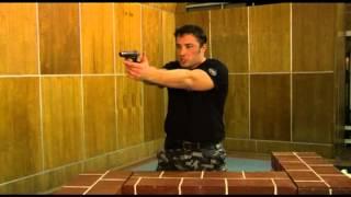 Правильная техника использования оружия в период непосредственного применения