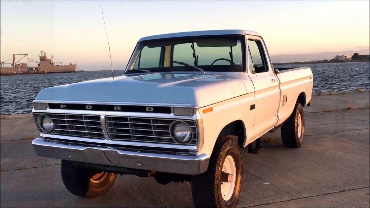 1973 Ford F250 4X4 Highboy In Storage For Over 20 Years