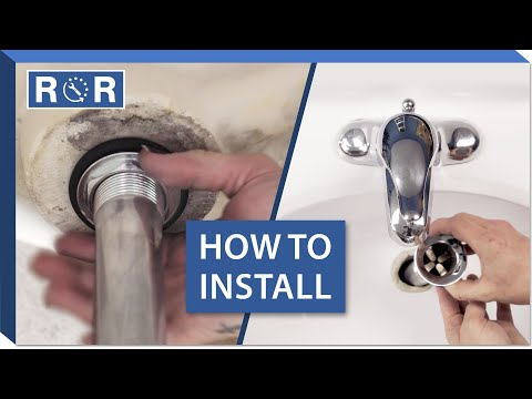 How to Install a Bathroom Sink Drain | Repair and Replace