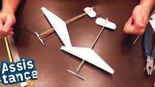 Сделай сам / Резиномоторный САМОЛЕТ СВОИМИ РУКАМИ(Расскажу вам как сделать летающий резиномоторный мини самолет своими руками из шпажек для запекания и..., 2014-11-26T15:34:20.000Z)
