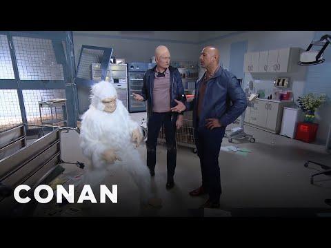 Conan Becomes Dwayne Johnson's