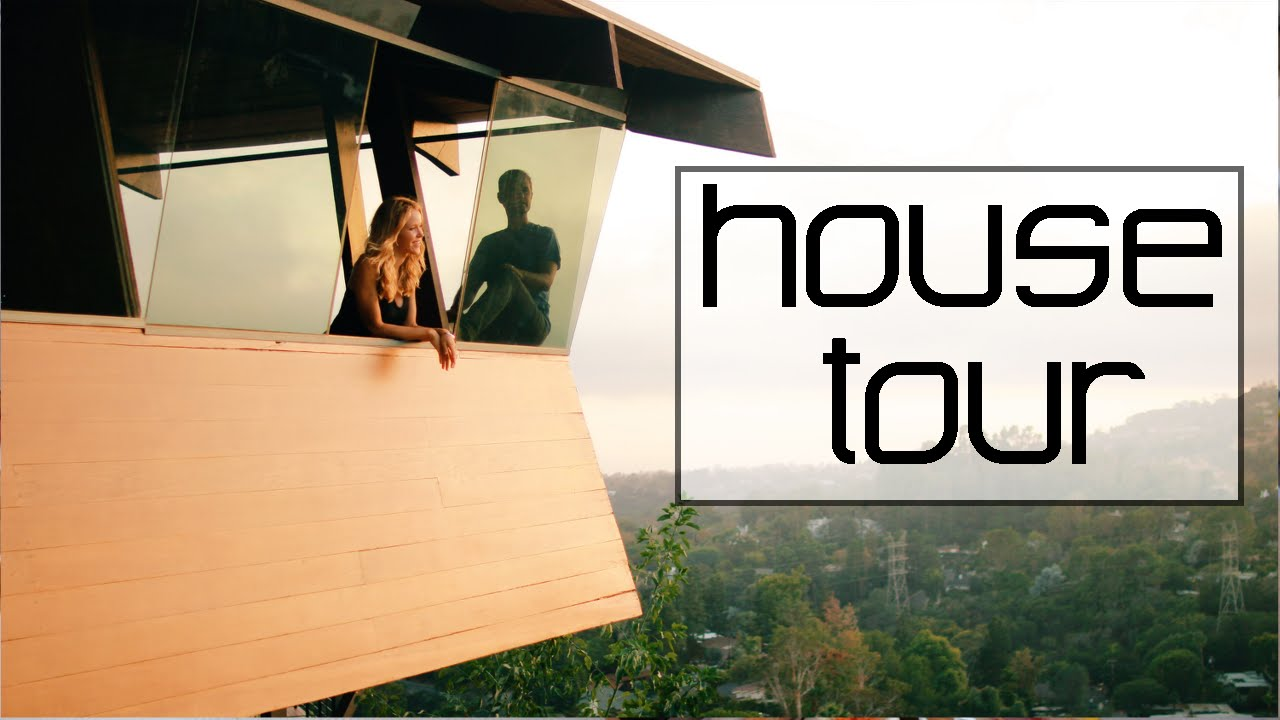 Tour our Historic Los Angeles Mid Century Modern House! - YouTube
