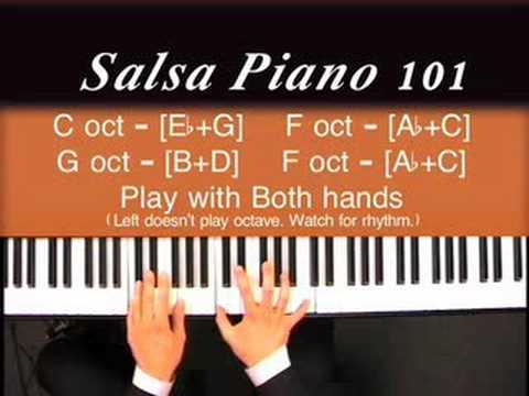 Salsa Piano 101 - Salsa, Salsa, and More Salsa... WOW!