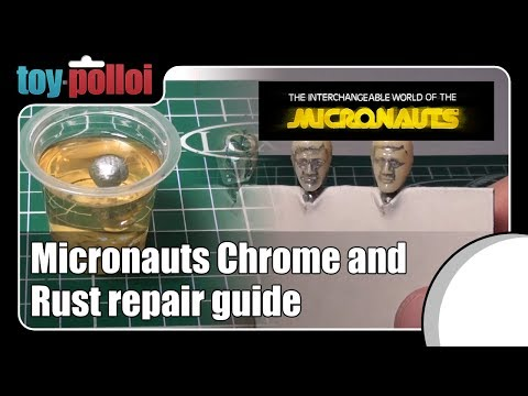 Fix it guide - Chrome and rust on vintage Micronauts Pharoid