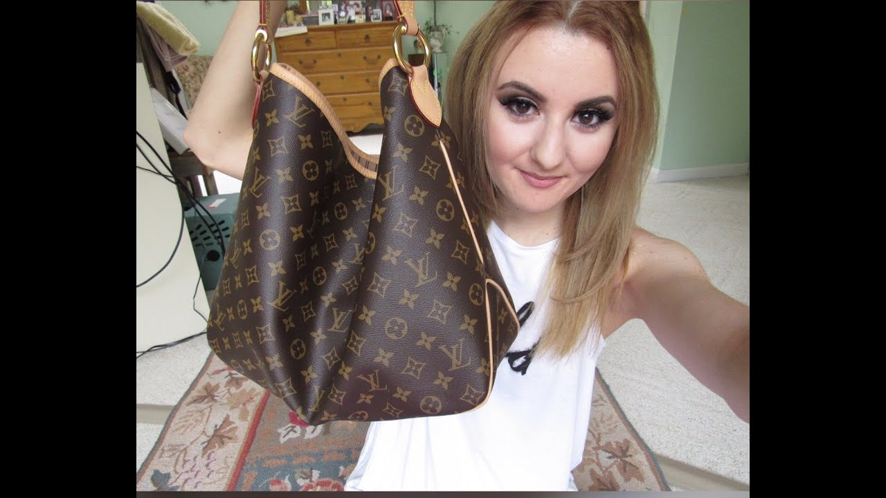 REVIEW: LOUIS VUITTON DELIGHTFUL MM - YouTube