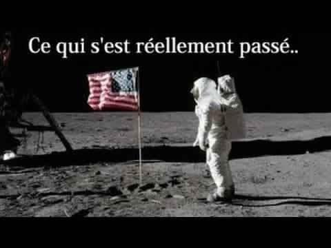 Les Américain n'ont jamais marché sur la Lune; Theorie du complot ! Astronomie