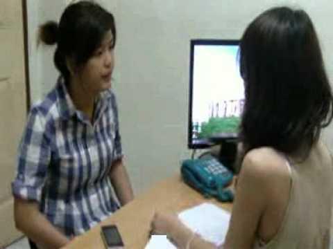 Job interview AT เกว  เมล์