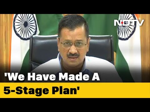 """Arvind Kejriwal Says Ready With """"5T Plan"""" To Counter COVID-19 In Delhi"""