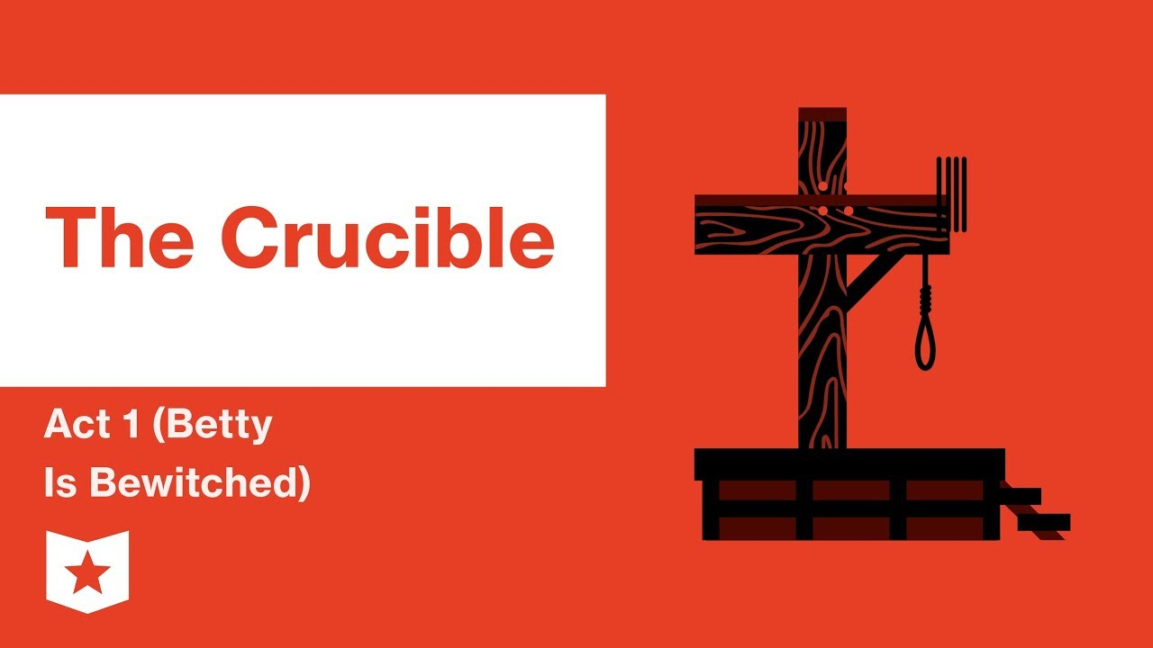 The Crucible Act 1 Betty Is Bewitched Summary | Course Hero