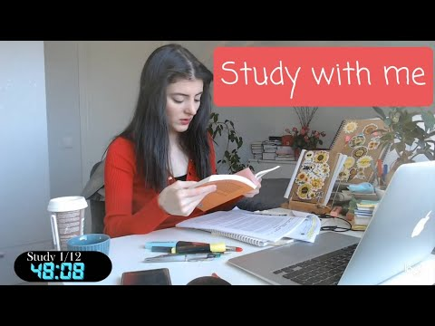 Study with me live pomodoro 12  hours