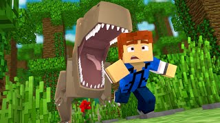 "Minecraft Jurassic World - Jurassic Park - RUN!!! #9 - ""Jurassic Craft Roleplay"""