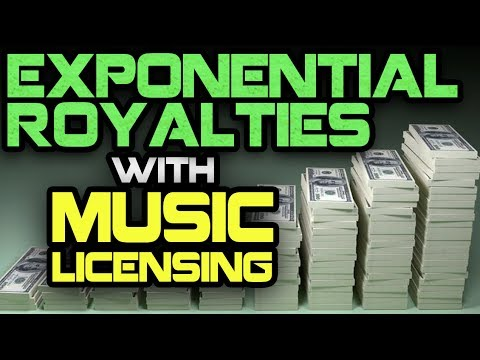 Exponential Royalties With Music Licensing
