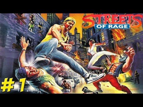 SEGA Genesis: Streets of Rage! Part 1 - YoVideogames