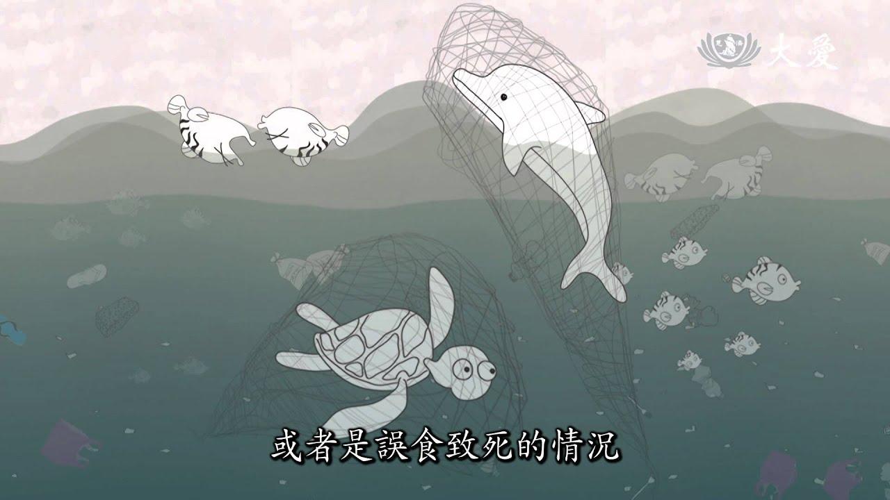 【減塑行動。拯救海洋】海洋生物偵查庭-3 誤把塑膠袋當成食物!56%鯨豚受到傷害 - YouTube