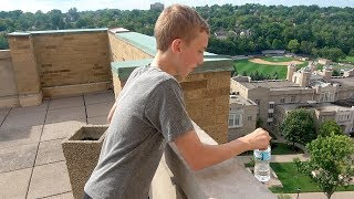 Trick Shots at Xavier University | That's Amazing