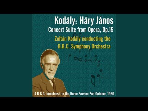 Háry János Concert Suite from Opera, Op.15 - II: Viennese musical clock