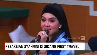 Video Wow! Syahrini Kepanasan, Lepas Jaket Depan Hakim - Sidang Penipuan First Travel download MP3, 3GP, MP4, WEBM, AVI, FLV Juli 2018