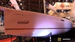 2016 Jeanneau Sun Odyssey 389 Sailing Yacht - Deck, Interior Walkaround - 2015 Salon Nautique Paris