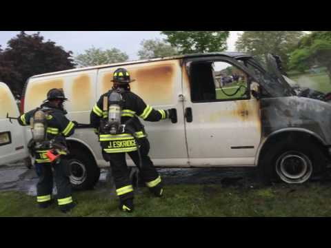 VAN Fire Monmouth Beach New Jersey May 24, 2016 By Jack Flaherty Part 2