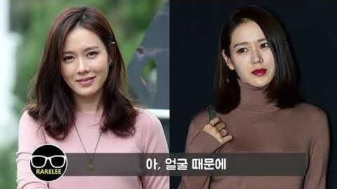 [큰얼굴/좁은어깨] 입으면 얼굴 커보이는 상의특징 (feat.손예진 코디)