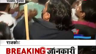 Political battles between Congress and BJP turn violent in Gujarat