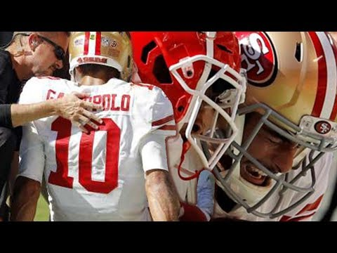 Jimmy Garoppolo Out With TORN ACL!