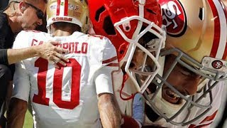 Jimmy Garoppolo Out With TORN ACL! Are The 49ers Screwed? Who Should Replace Him?