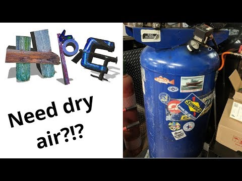 Desiccant Air Dryer Part 3 Update How to change desiccant