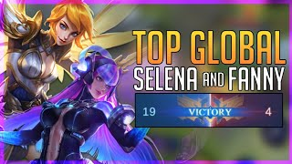 WHAT IF TOP GLOBAL SELENA SUPPORTS TOP 1 GLOBAL FANNY?