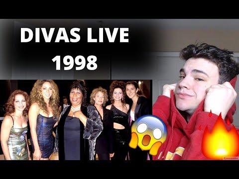 DIVAS LIVE 1998! NATURAL WOMEN! REACTION! (MARIAH CAREY, CELINE DION, ARETHA FRANKLIN)