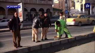 فتح شارع الشهيد وصفي التل أمام الحركة المرورية - (21-1-2018)