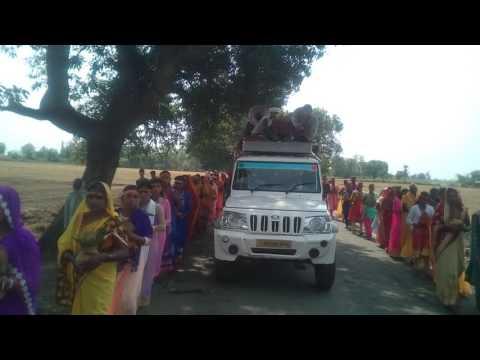 जिला रोहतास, प्रखण्ड दावथ, ग्राम जनकपुर में यग जल यात्रा