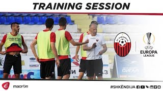 UEFA Europa League | Last training session ahead of tomorrow