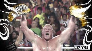 "WWE Brock Lesnar ""New WWE Champion"" Titantron Entrance Video 2014"