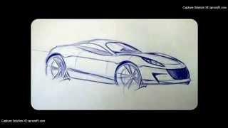 como desenhar um carro elise
